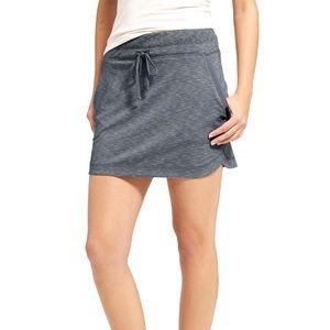 Athleta Techie Terry Mini Skirt Size XL